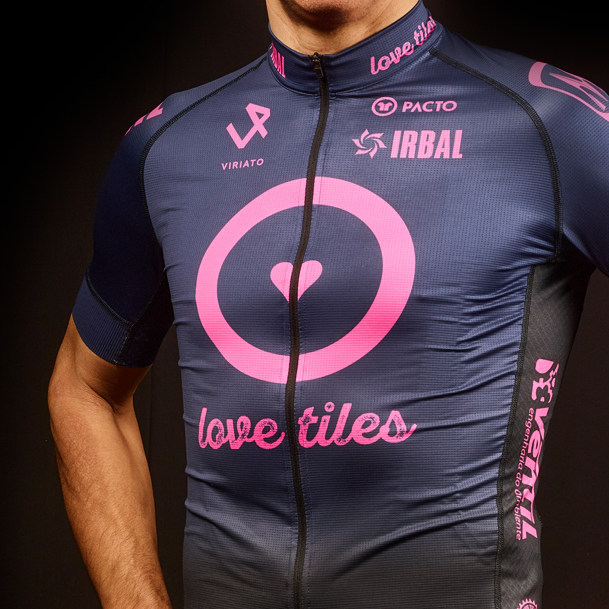 Love Tiles Cycling Sports Team