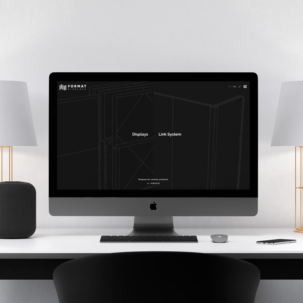 Website Format Displays